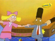 Helga and Gerald at Bar Mitzvah