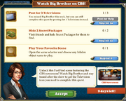 Quest Watch Big Brother on CBS!-Tasks2