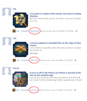 News Feed Clues-Screenshot2