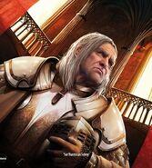 Barristan Selmy by Alexandre Dainche, Fantasy Flight Games©