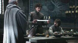 Robb y Theon inicio guerra HBO.jpg
