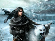 Jon and Ghost by quickreaver©