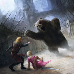 Jaime rescata a Brienne by Marc Simonetti©.jpg