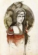 Rhaenys Targaryen by Elia Mervi