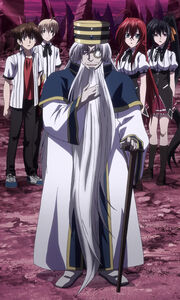 Odin arriving to assist the Gremory Group