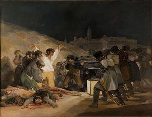 El Tres de Mayo Goya