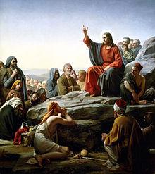 Carl Bloch Sermon On The Mount