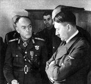 Ion Antonescu and Hitler