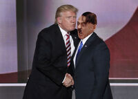 Hitler Trump Kiss