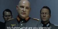Hitler Planning Scene