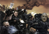 Downfall 40K Space Marines
