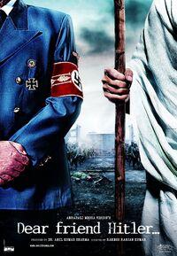 Dear Friend Hitler Ghandi to Hitler Poster