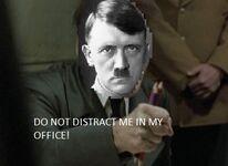 Real Hitler in the bunker