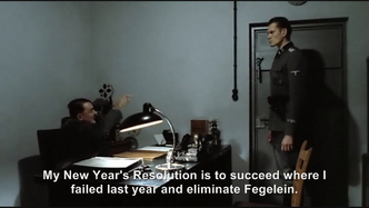 Hitler is wished a Happy New Year 2011