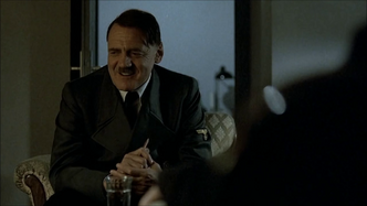Hitler and Speer say nothing