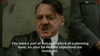 Hitler plans his first plan