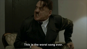 Hitler rants about Rebecca Black - Friday