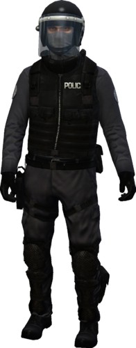 Chicago SWAT Officer outfit