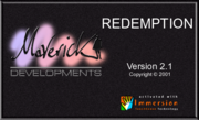 Redemption splash screen