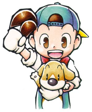 Harvest Moon Friends Of Mineral Town Dog