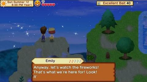 Fireworks Party with Emily Harvest Moon Seed of Memories