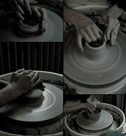 Pottery with Malin