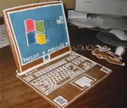 Gingerbread Laptop