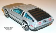 Delorean silver rear