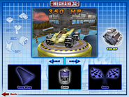 Shadow Jet II was Playable in Hot Wheels Mechanix PC 2001 Original Game Colors