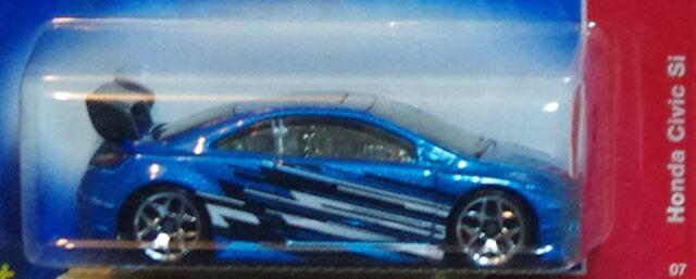 File:07-100a Honda Civic SI Blue 5Ys closer.JPG