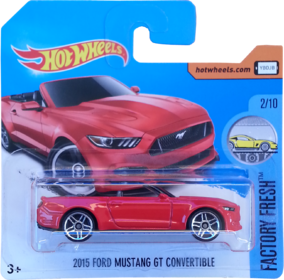 2015 Ford Mustang GT Convertible package front