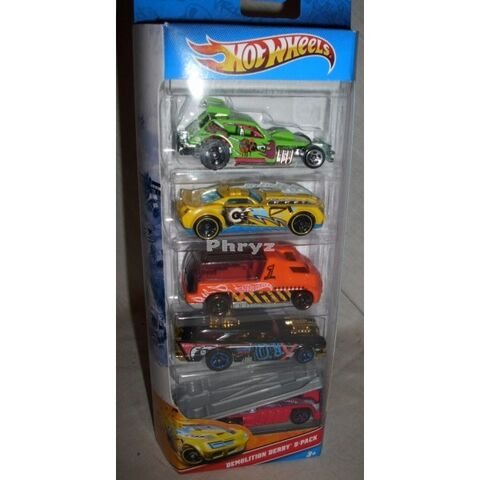 File:Hot-wheels-demolition-derby-5-pack-2010-new-mib.jpg