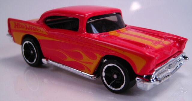 File:'57 Chevy red 2013 HW Garage.JPG