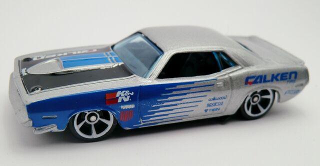 File:'70 Plymouth AAR Cuda-2013 247 Metallic Gray.jpg