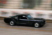 Black '65 Mustang Fastback - 0046d