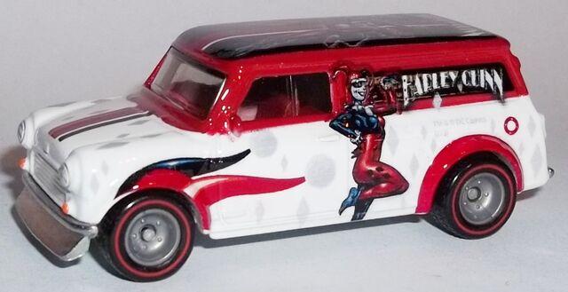 File:HW-DC Comics-'67 Austin Mini Van-Harley Quinn.jpg