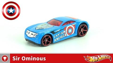 Hot Wheels - Sir Ominous - Captain America (4K UHD)