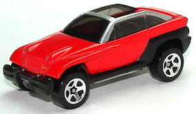 Jeepster Red