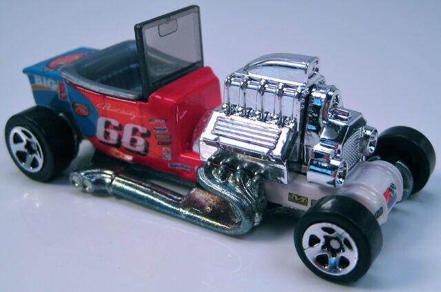 File:T-Bucket NASCAR Kmart 5sp wheels metal Thailand base.JPG