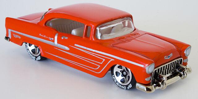File:2010 55 Chevy Bel Air Red BF Goodrich.jpg