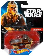 CGW39 Hot Wheels Star Wars Character Car Chewbacca XXX TFA