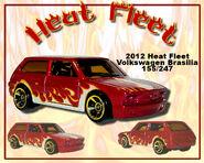 2012 Heat Fleet Volkswagen Brasilia
