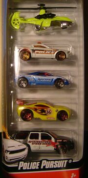 HW 5-PACK Police pursuit 2010