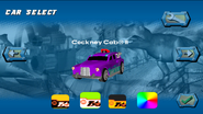 Cockney Cab II Playable in Hot Wheels Track Attack