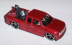 Red FE Chevy Silverado