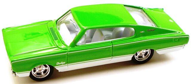 File:67dodgecharger holiday green.JPG
