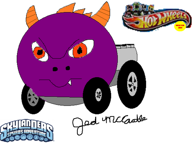 File:My Spyro Hot Wheels car concept.png