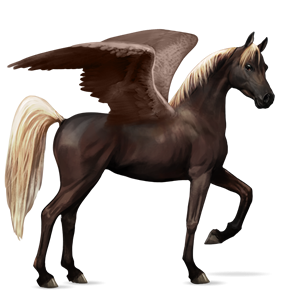 Flaxen Liver Chestnut Horse