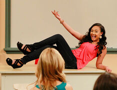 Nickelodeon-Star-How-To-Rock-Actress-Cymphonique-Miller-As-Kacey-Simon-On-Classroom-Class-Room-Desk-HTR