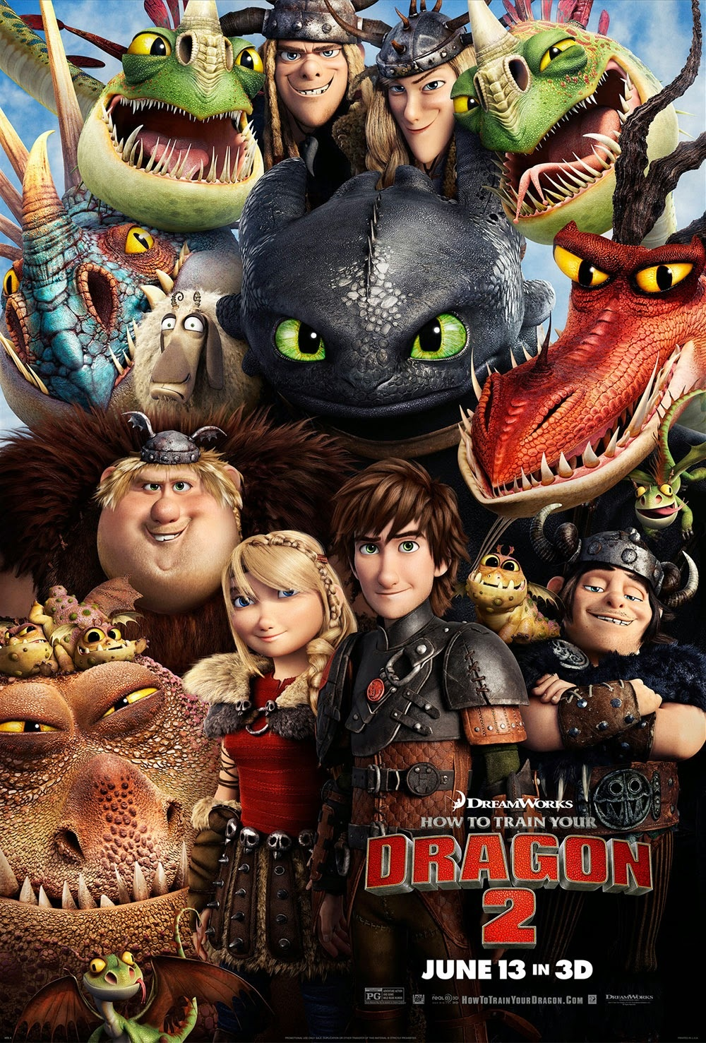 This is an image of Rare Pictures of Dragons From How to Train Your Dragon